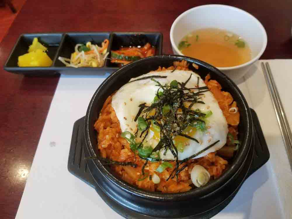 김밥천국 김치볶음밥