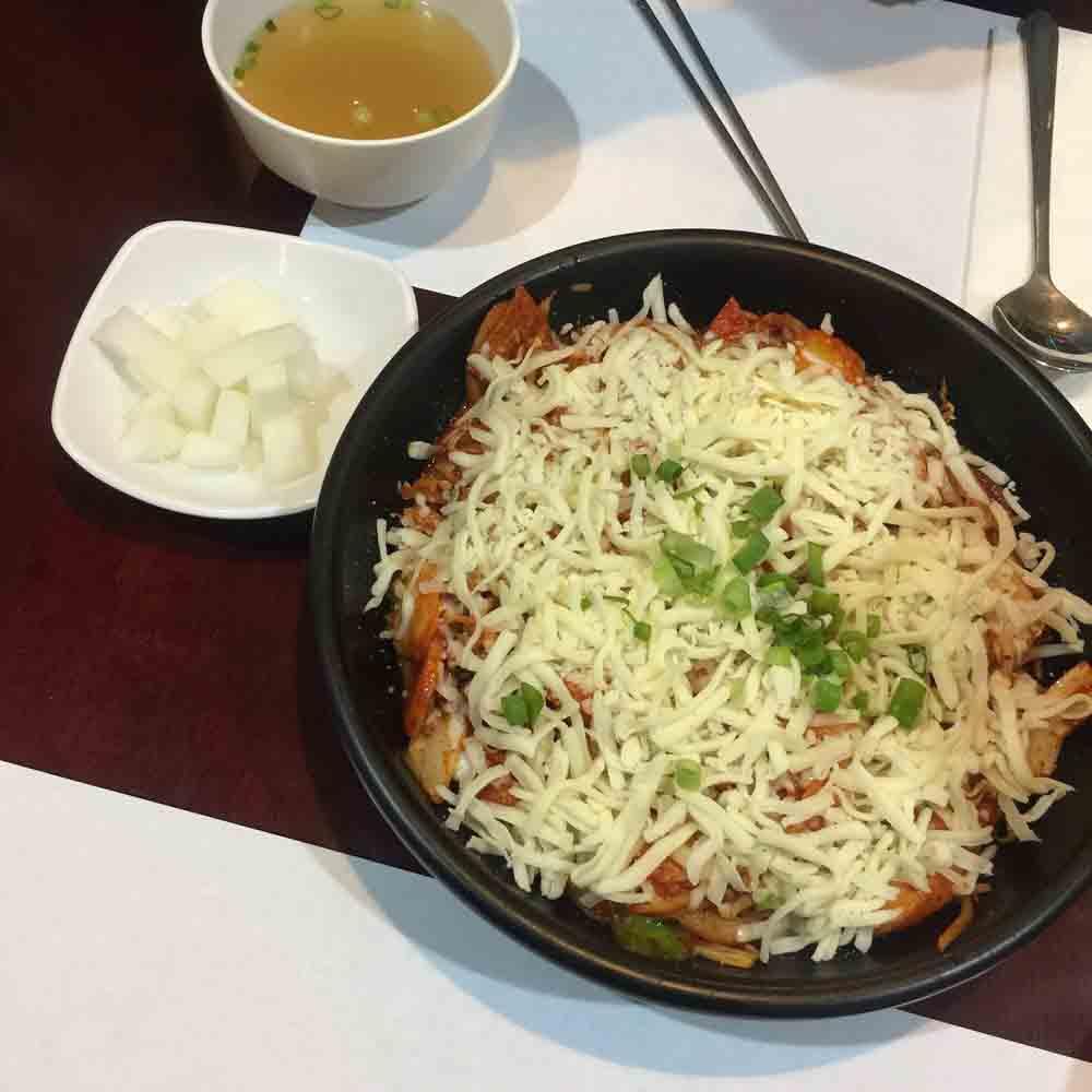 김밥천국 치즈떡볶이