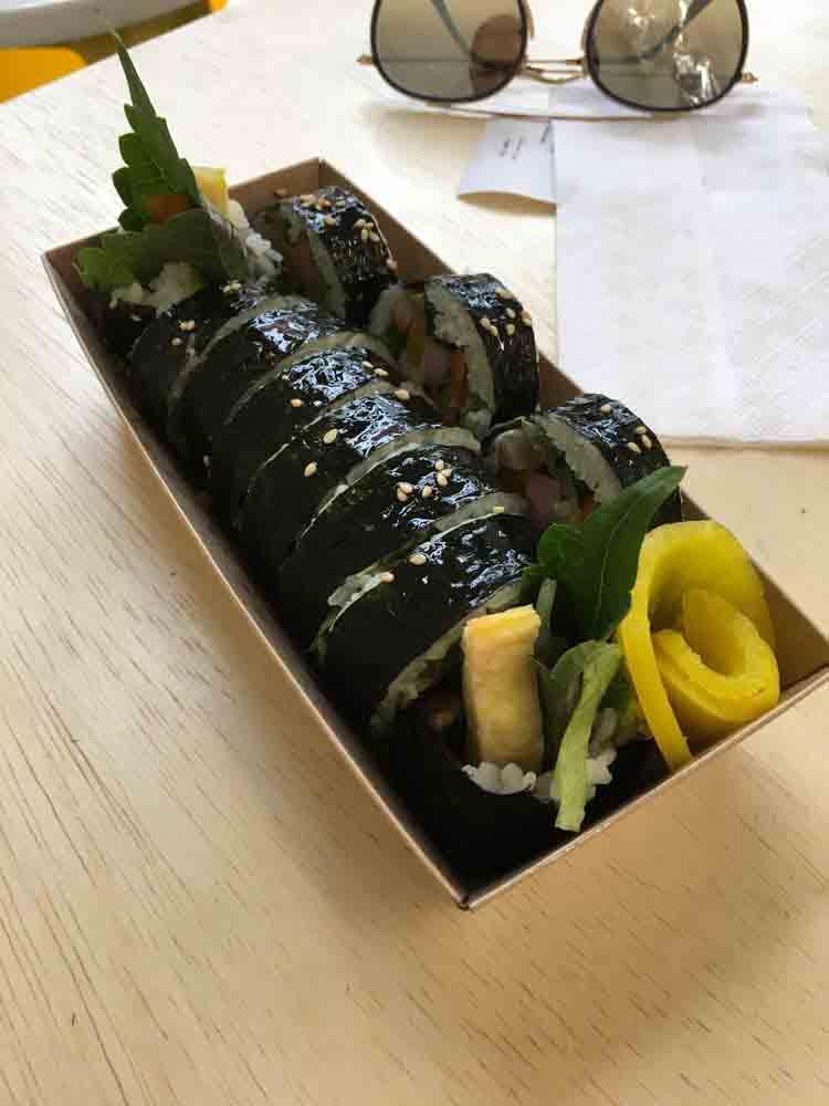 마리 김밥 마리김밥