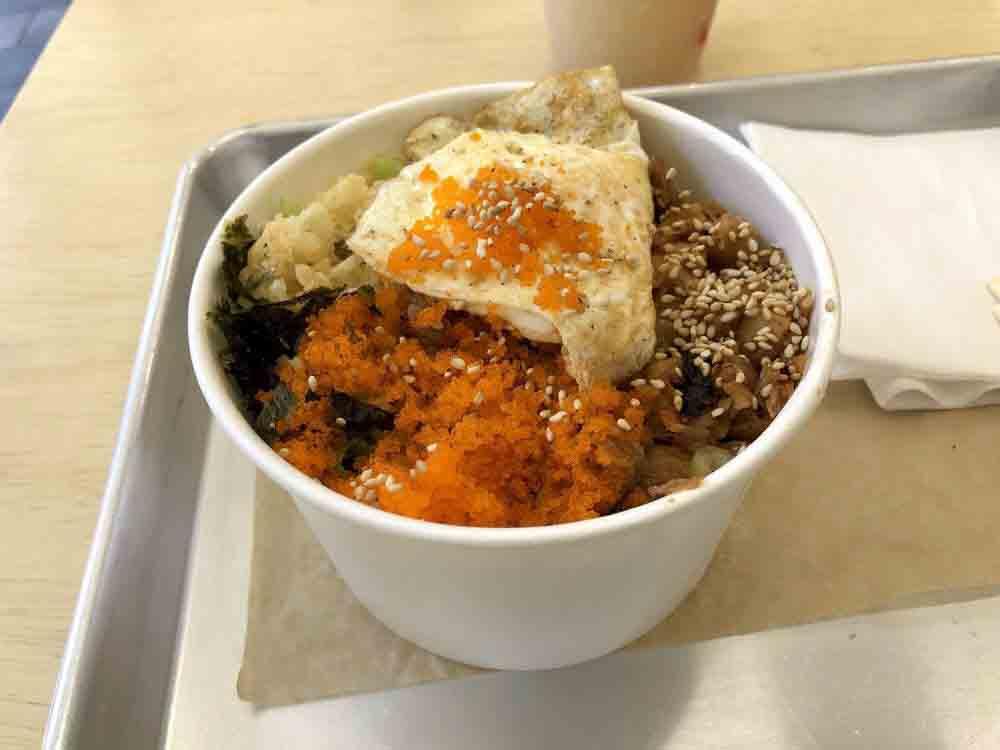 마리 김밥 치킨데리야끼컵밥