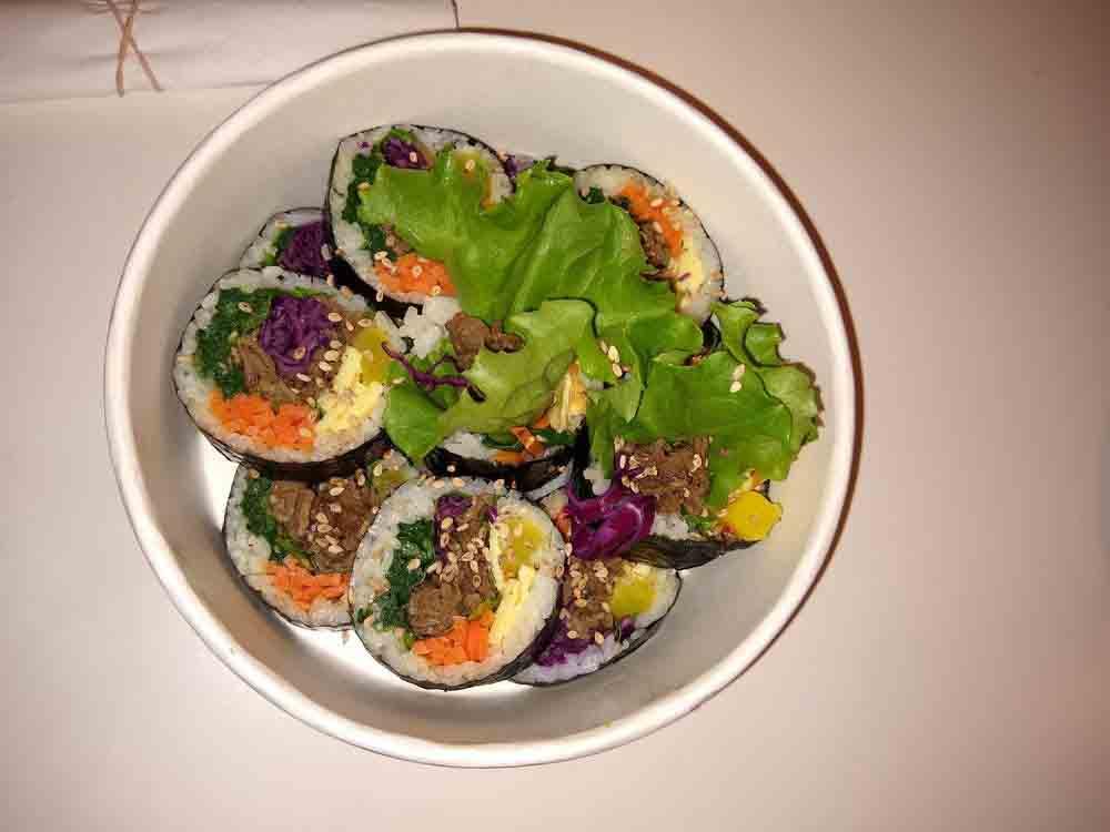 바로김밥 불고기김밥