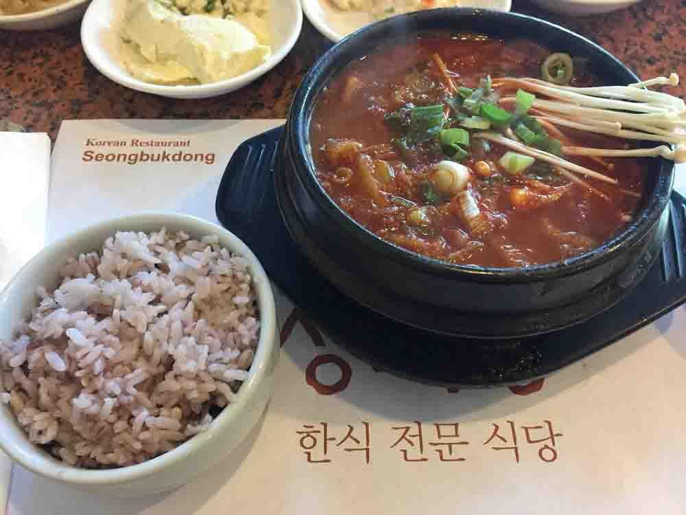 성북동 김치찌개