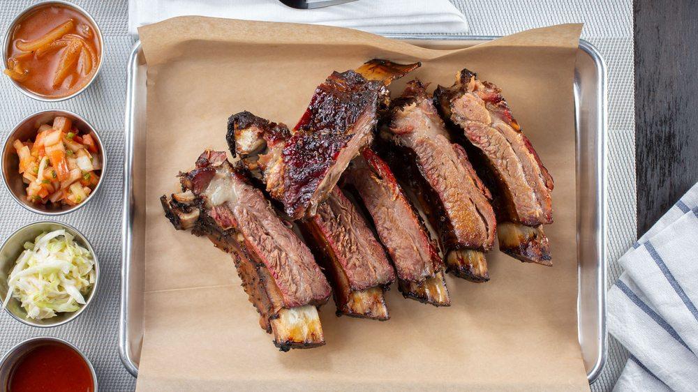 웨스턴바베큐 beef back ribs