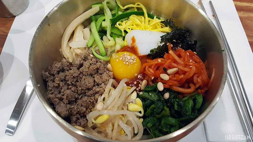 전주 현대옥 전주비빔밥