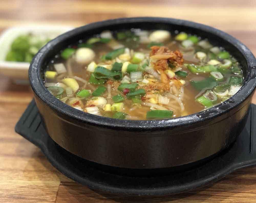 전주 현대옥 콩나물국밥