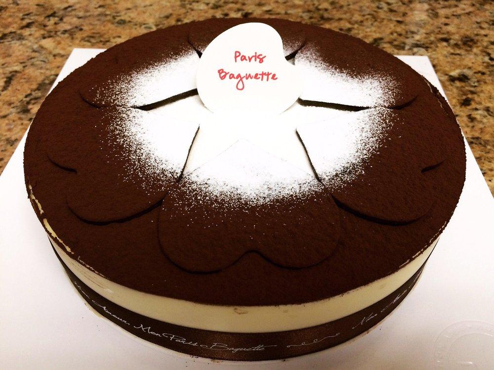 파리바게트 (웨스턴) 티라미수 케이크