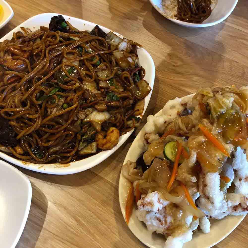 홍콩반점 (6가) 쟁반짜장,탕수육