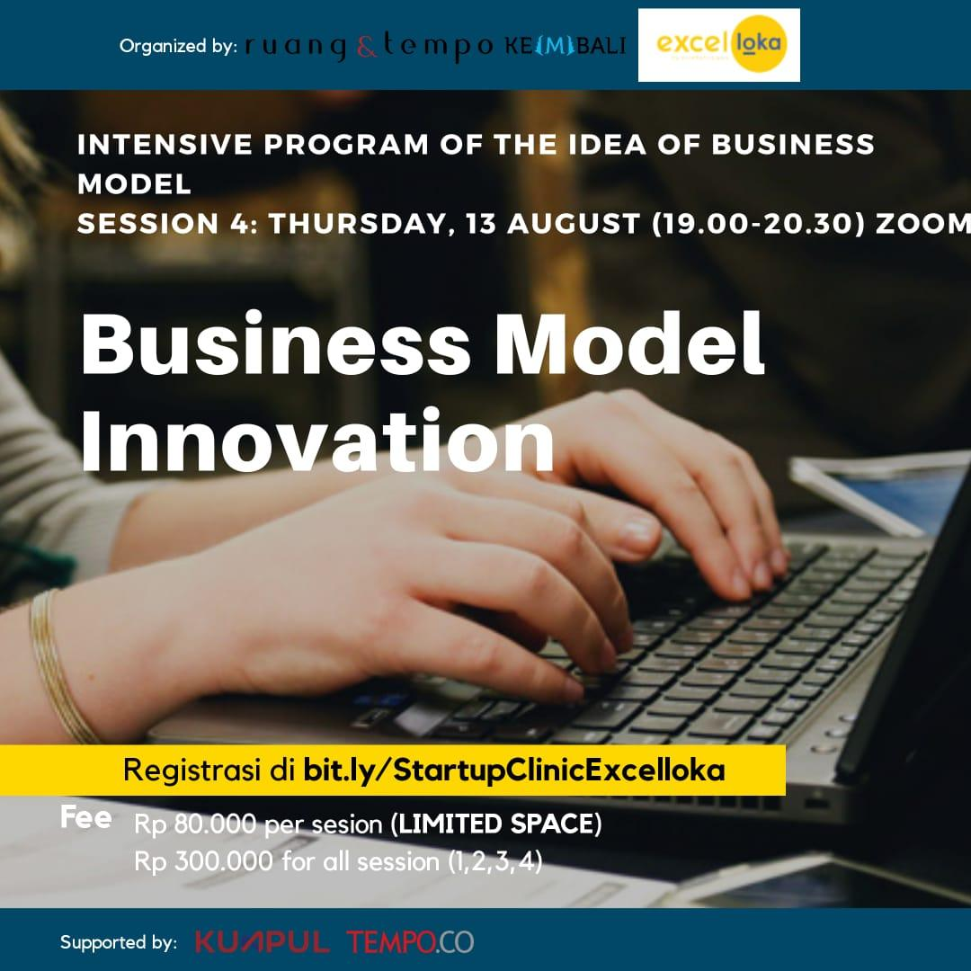 Startup Clinic x Excelloka: Business Model Innovation