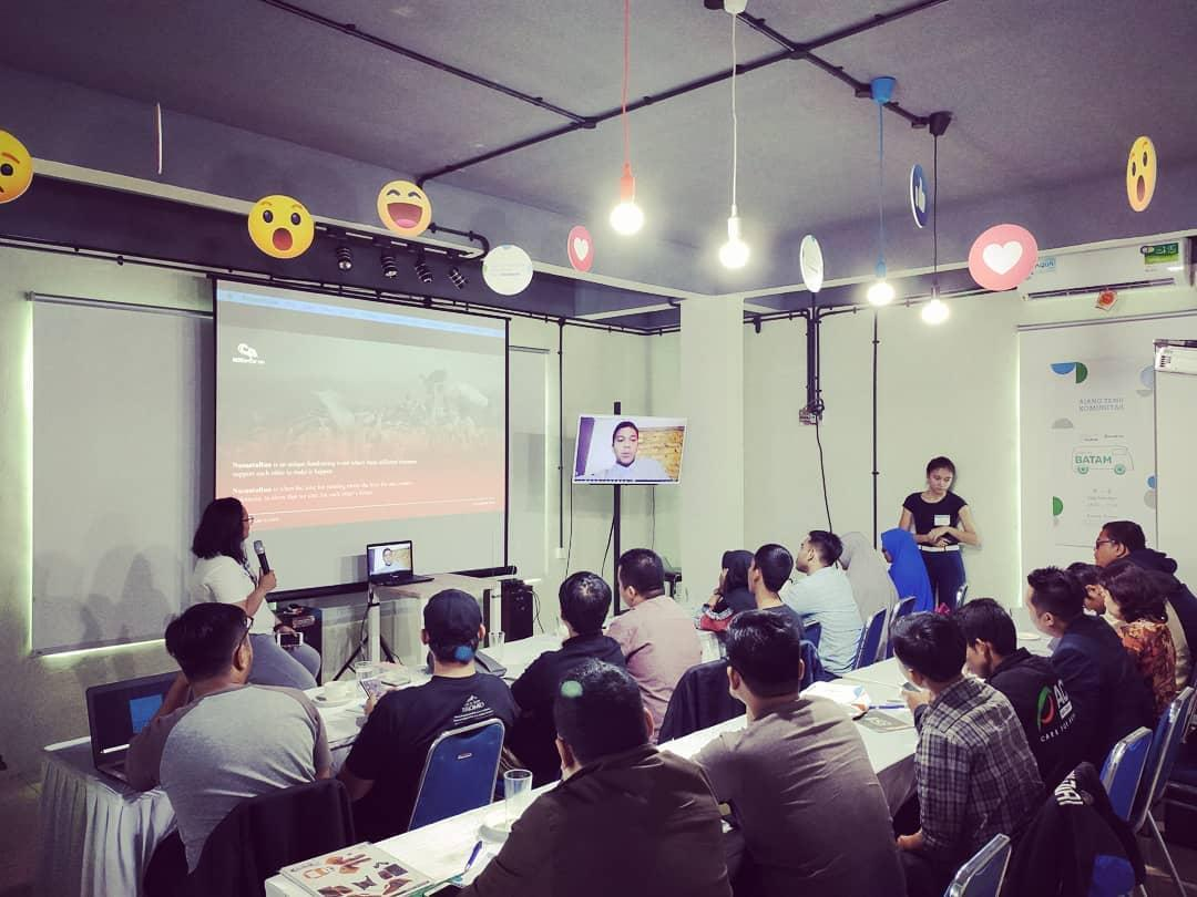 Ruang Komunal Indonesia Goes to Batam by Facebook Indonesia dan CoworkInc