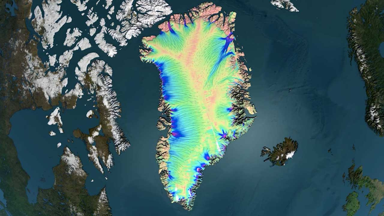 Mathematician uses skills to study Greenland's retreating glaciers