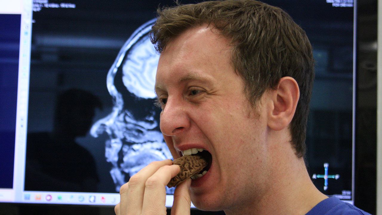 How To Eat Your Own (Chocolate) Brain!