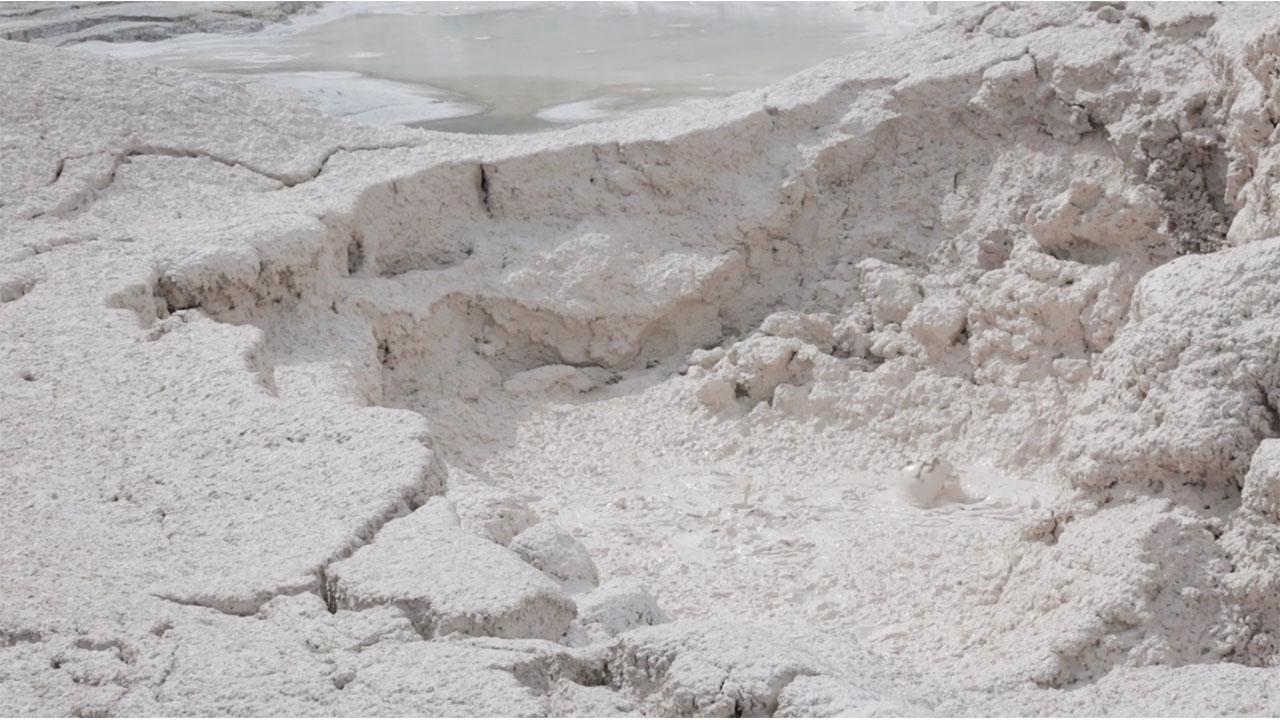 Yellowstone National Park Mud Pots