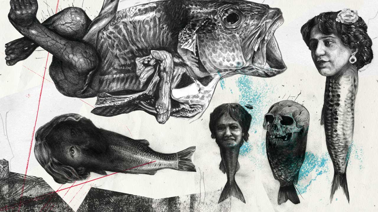 Beautifully Unsettling Art Evoking Monsters andMyth