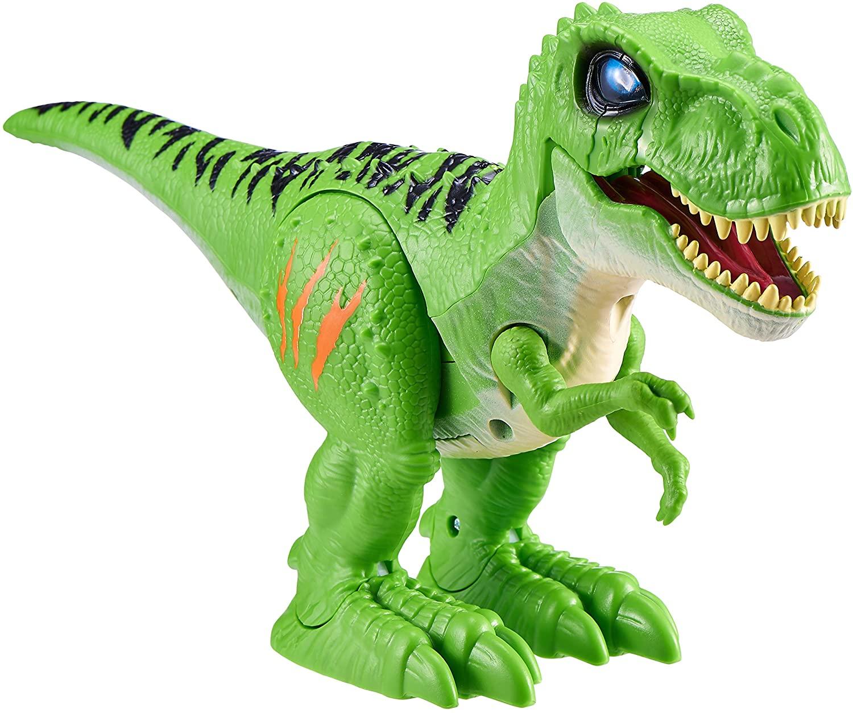 Attacking T-Rex - Grøn