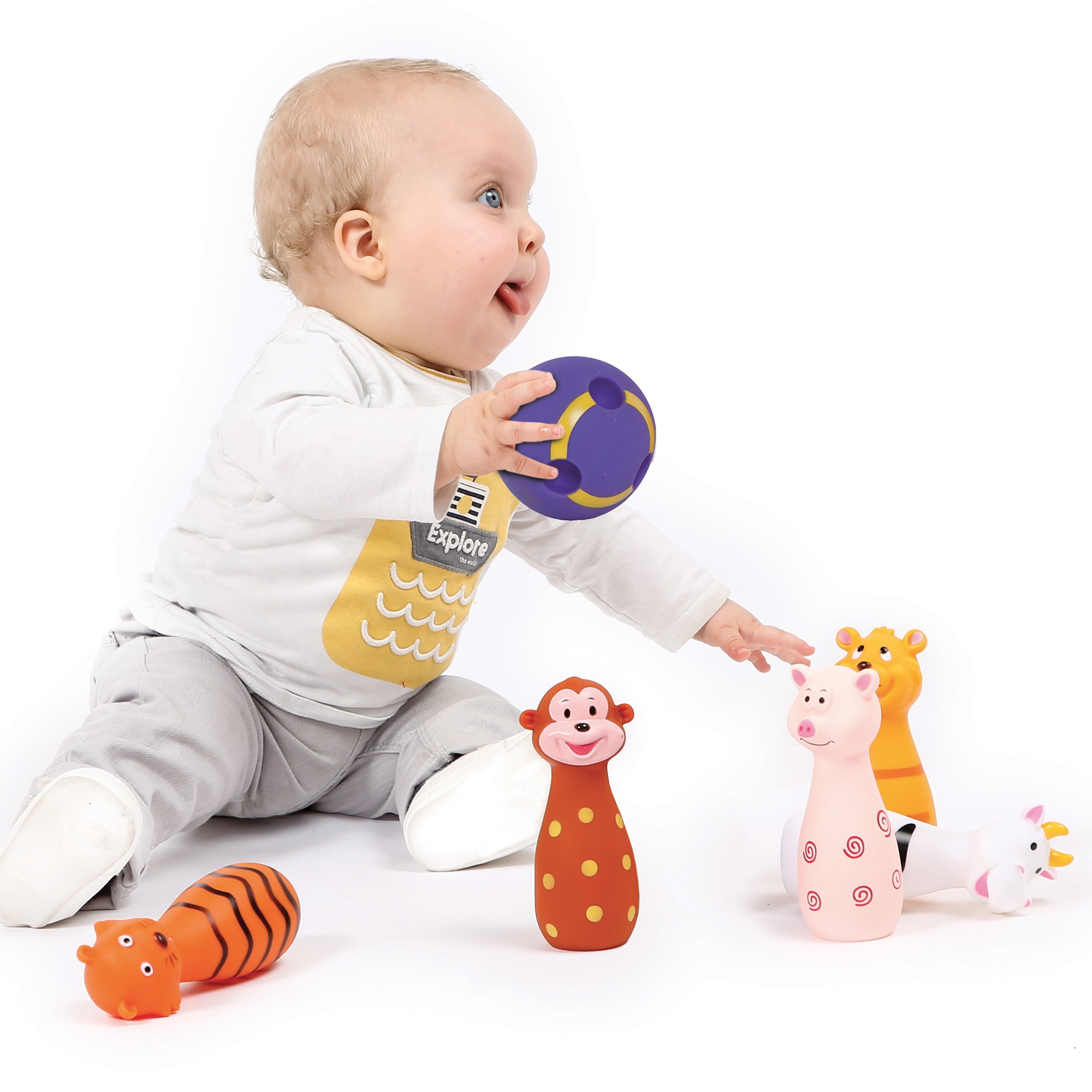 Baby bowling - Animals