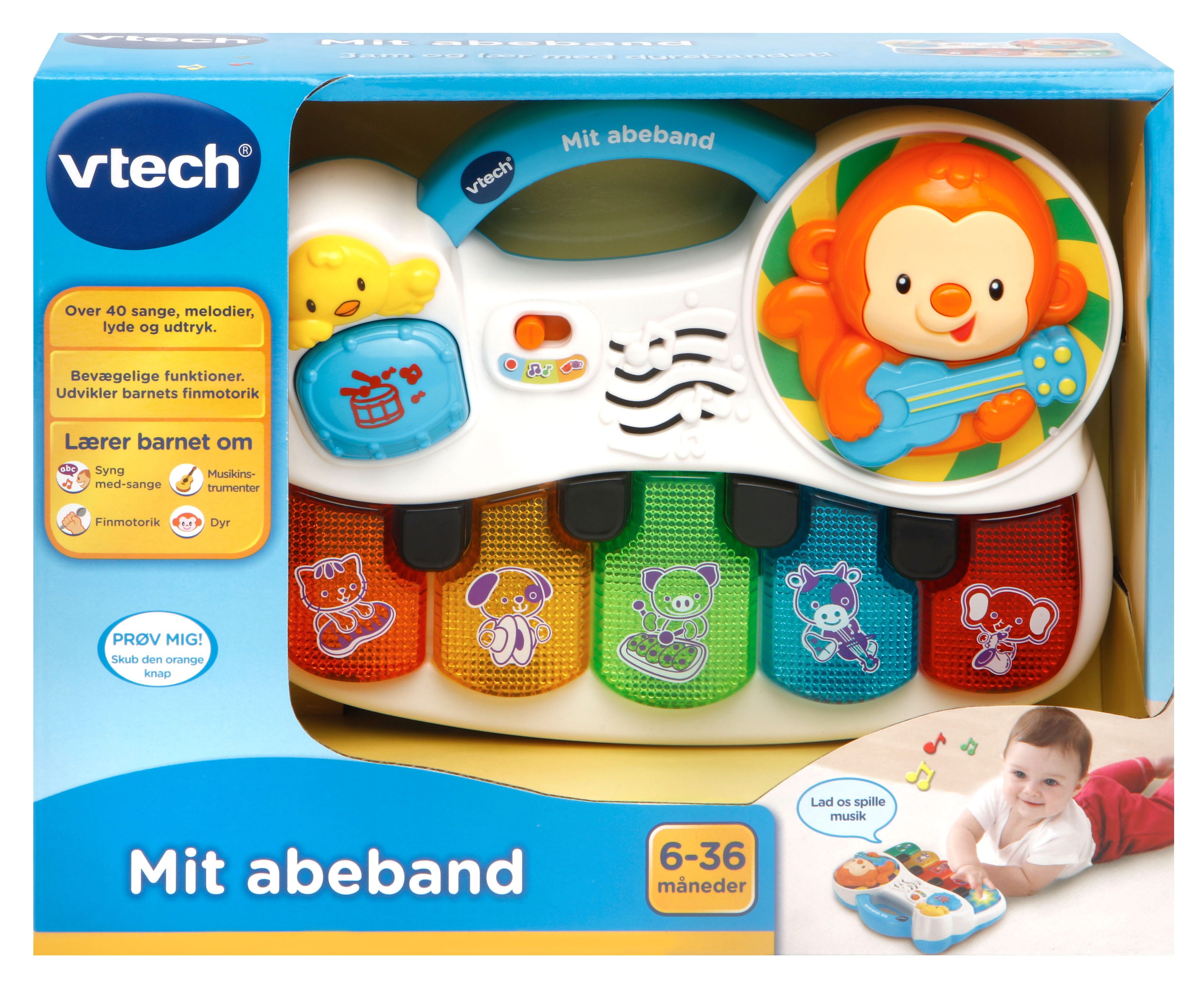 Baby Mit Abeband (Dansk)