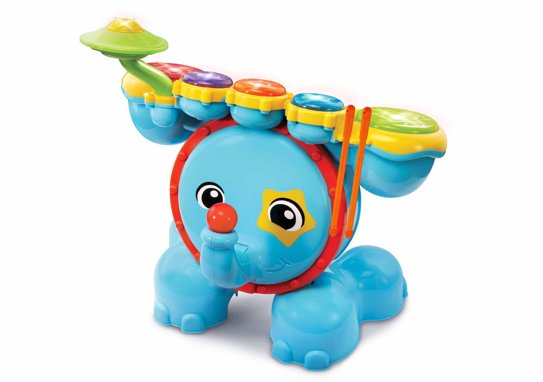 Baby Safari Trommesæt (Dansk)