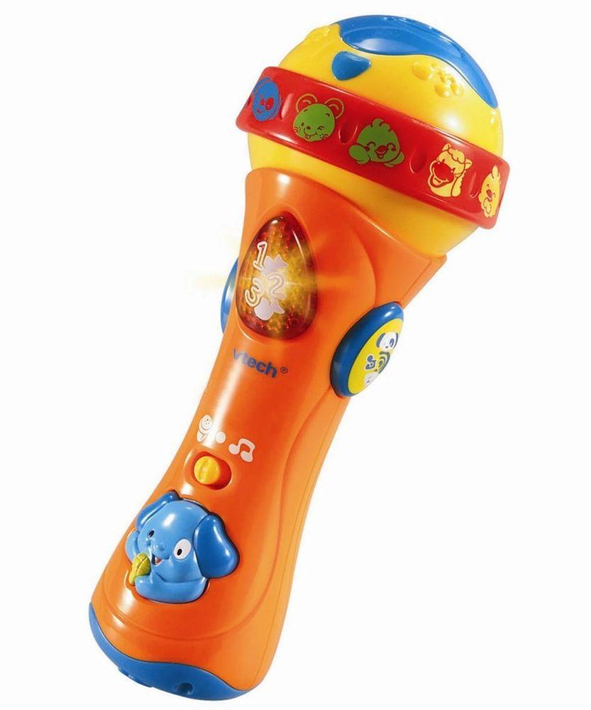 Baby Syng med Mikrofon (Dansk)