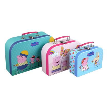 Barbo Toys - Gurli Gris - Kuffertsæt i 3 dele