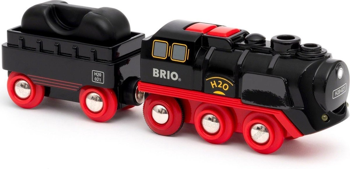 Battery-Operated Steaming Train