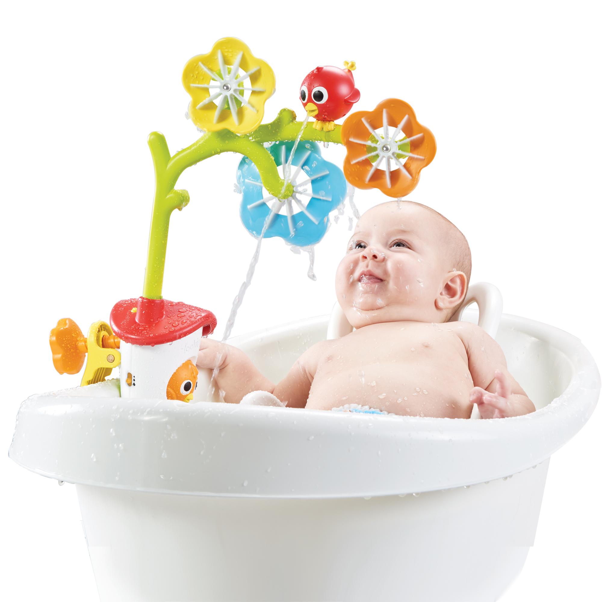 Blomster vandfald til badet