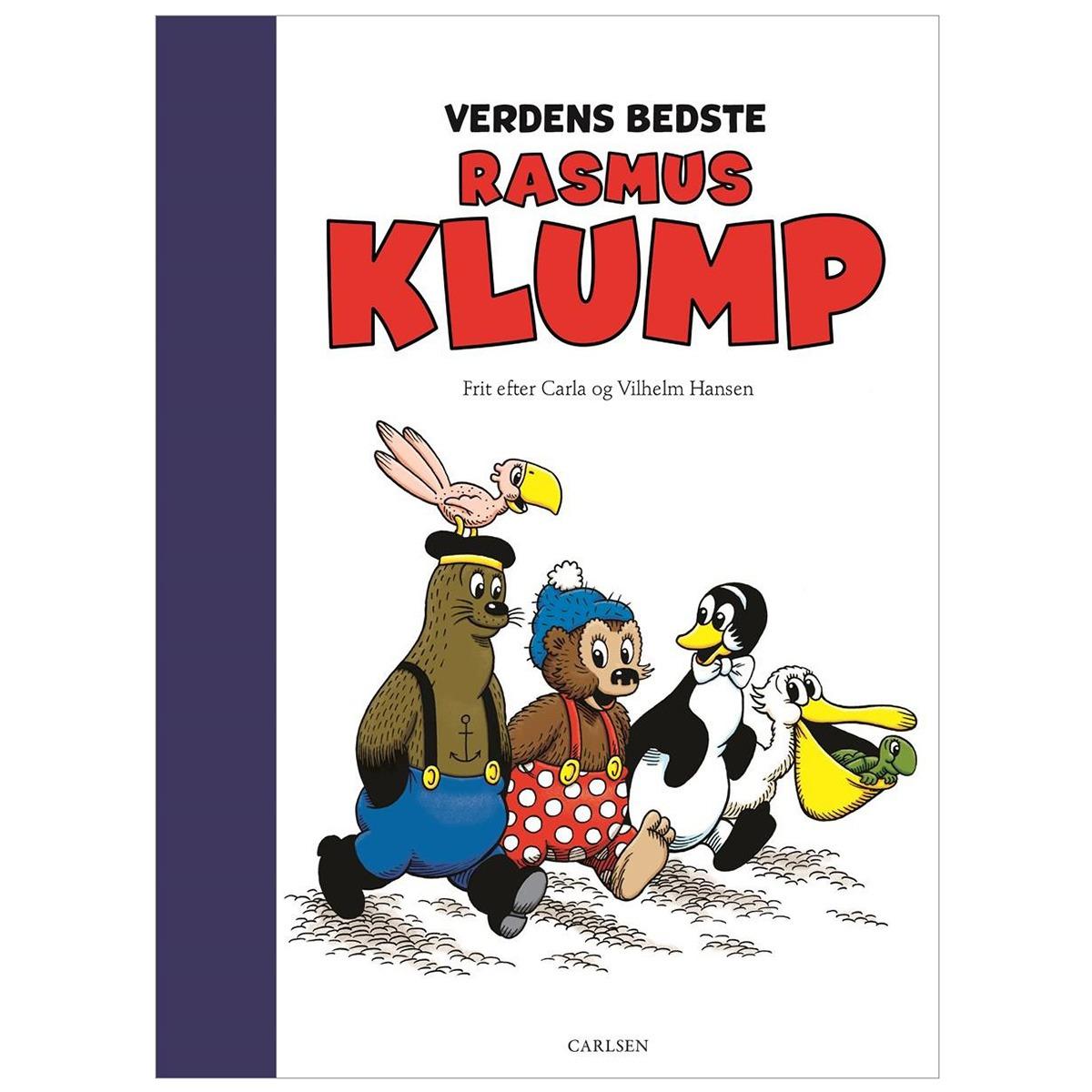 Børnebog - Verdens bedste Rasmus Klump