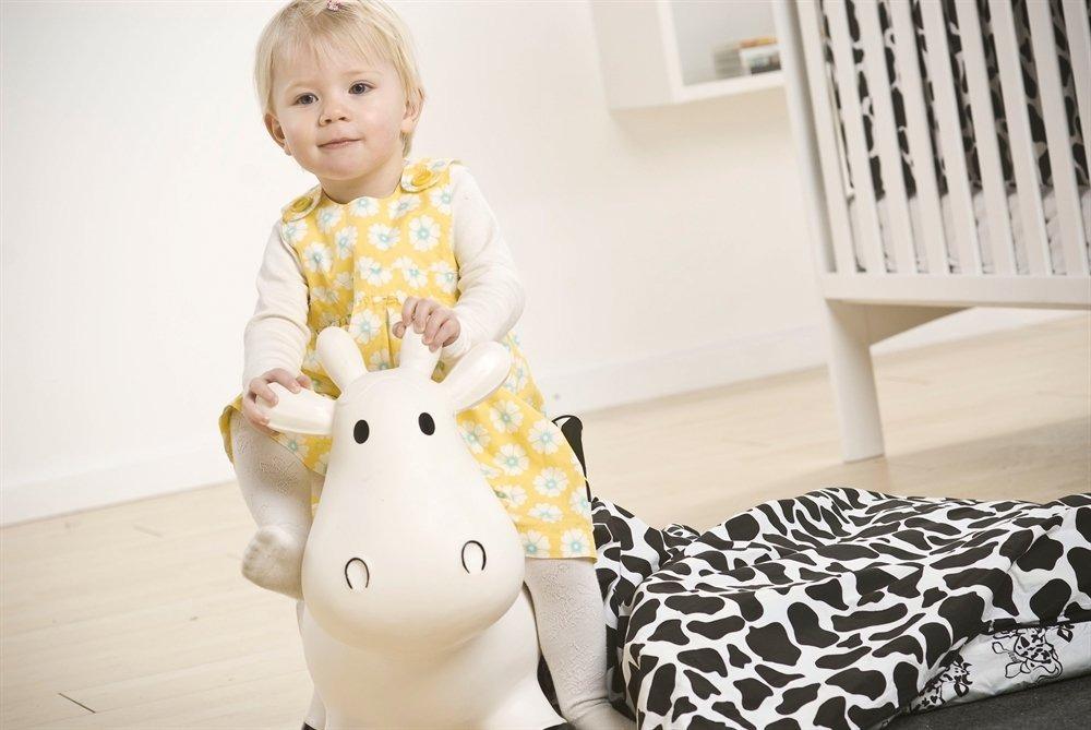 Bouncing Cow - Hvid
