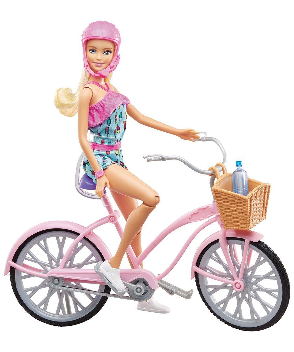 Dukke med Cykel