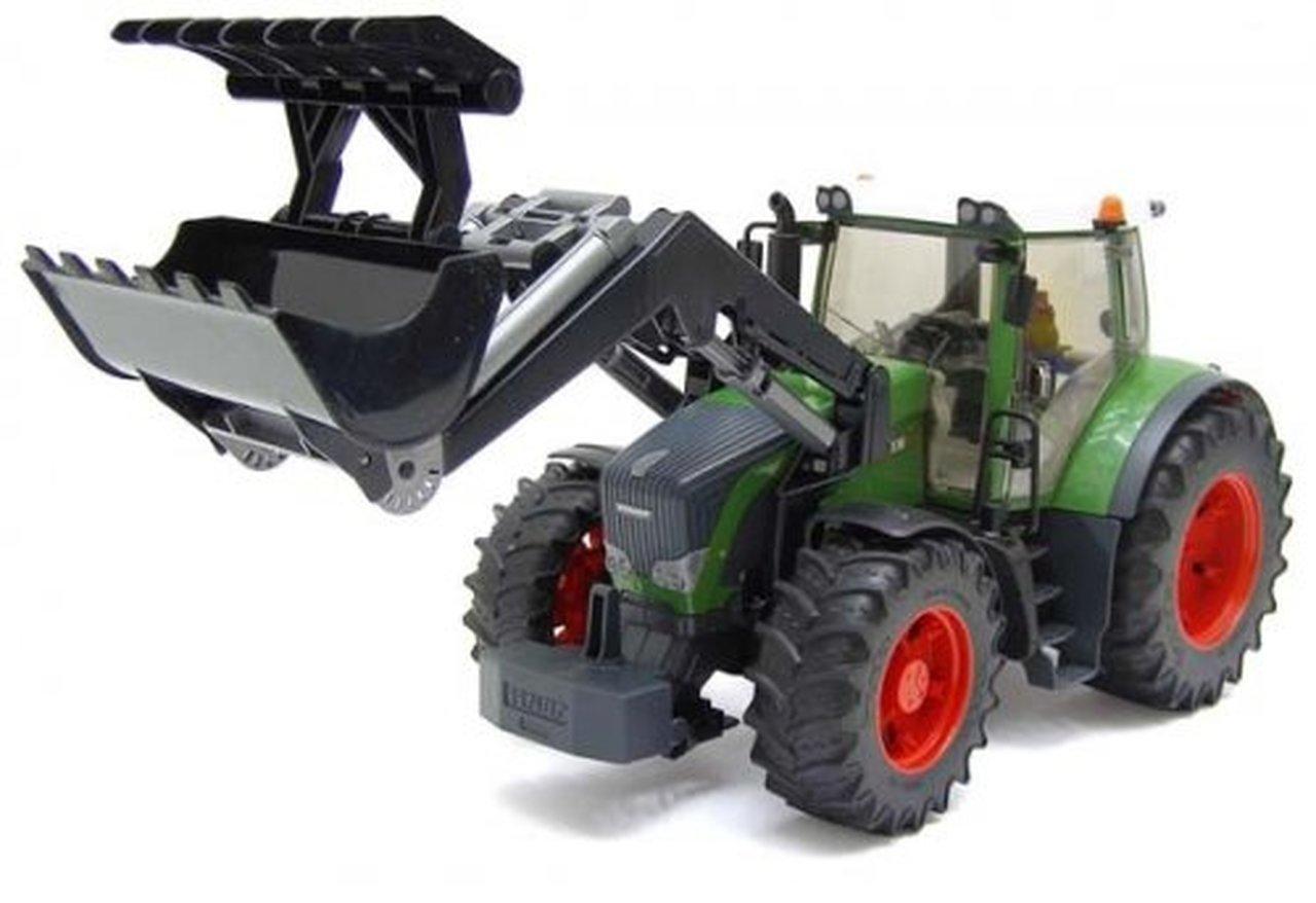 Fendt 936 Vario traktor med frontlæsser