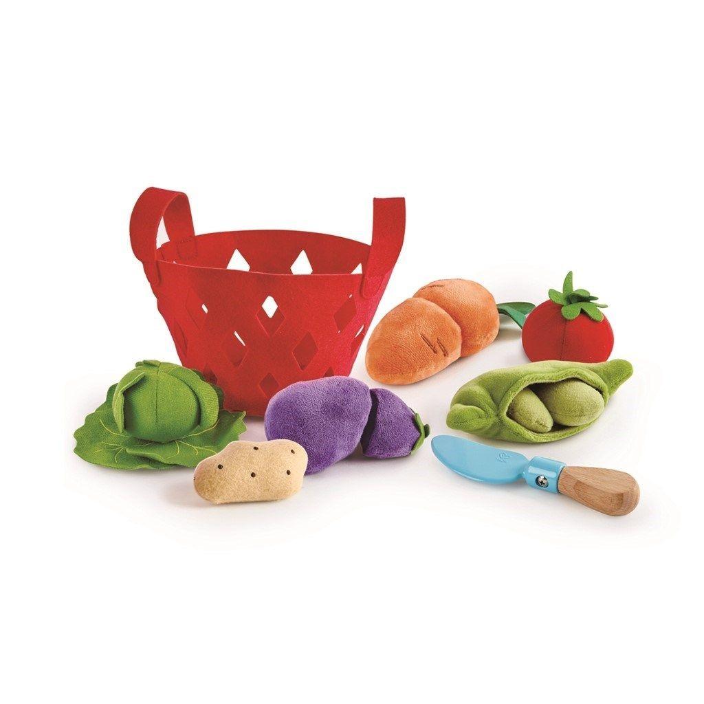 Filttaske med bløde grøntsager