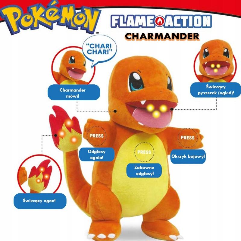 Flame Action Charmander