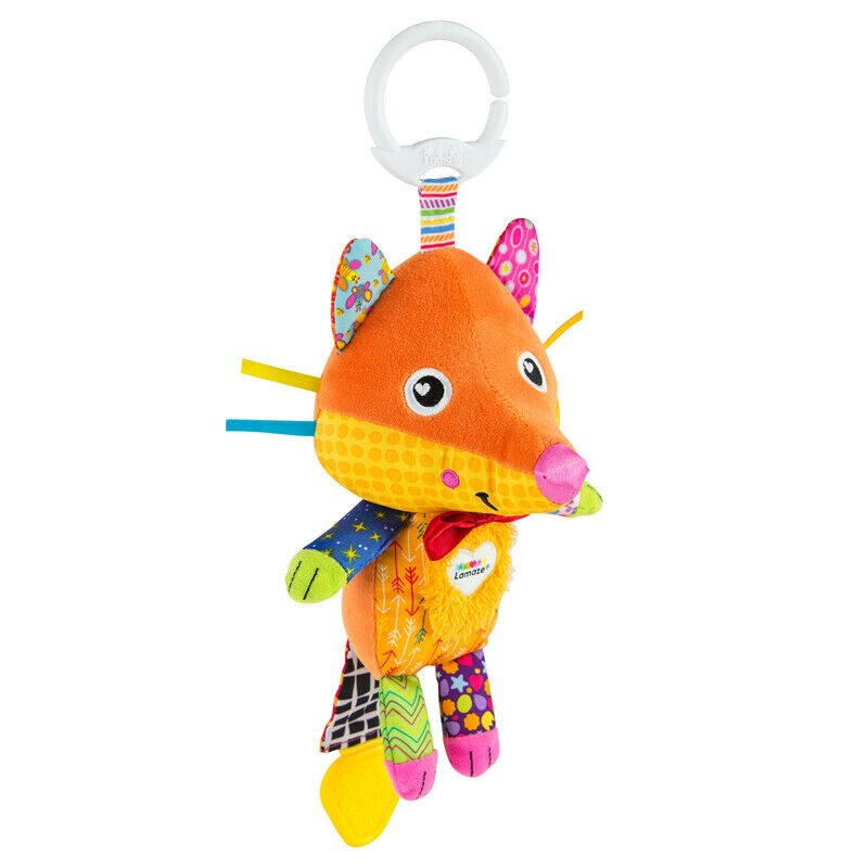 Flannery the Fox Activity Rattle
