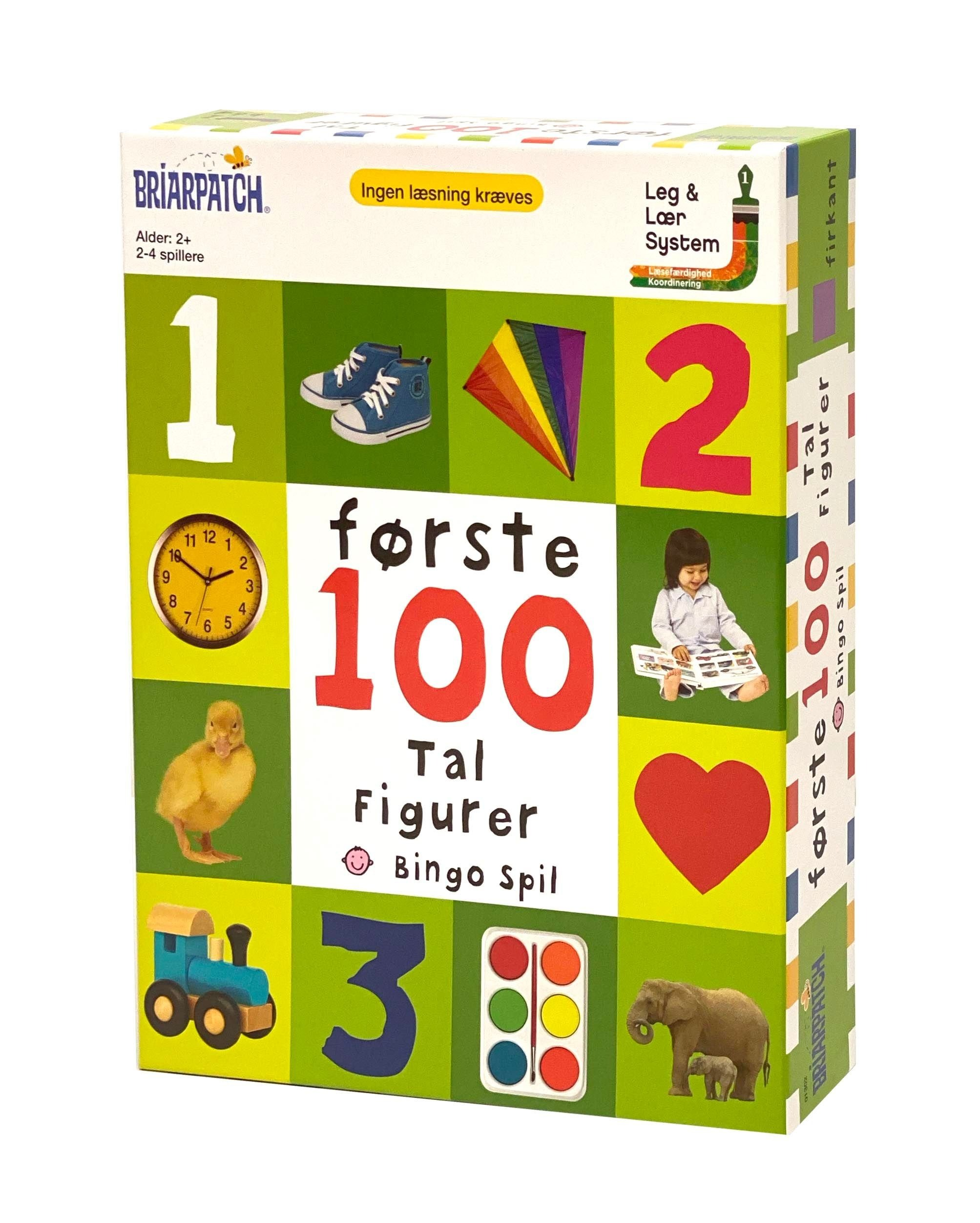 Første 100 Tal Spillet