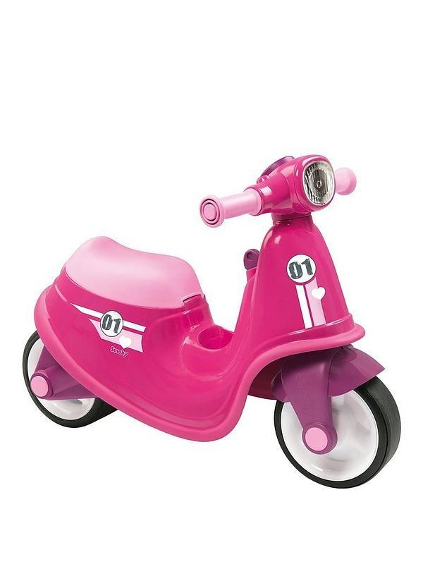 Gå-Bil - Scooter - Pink