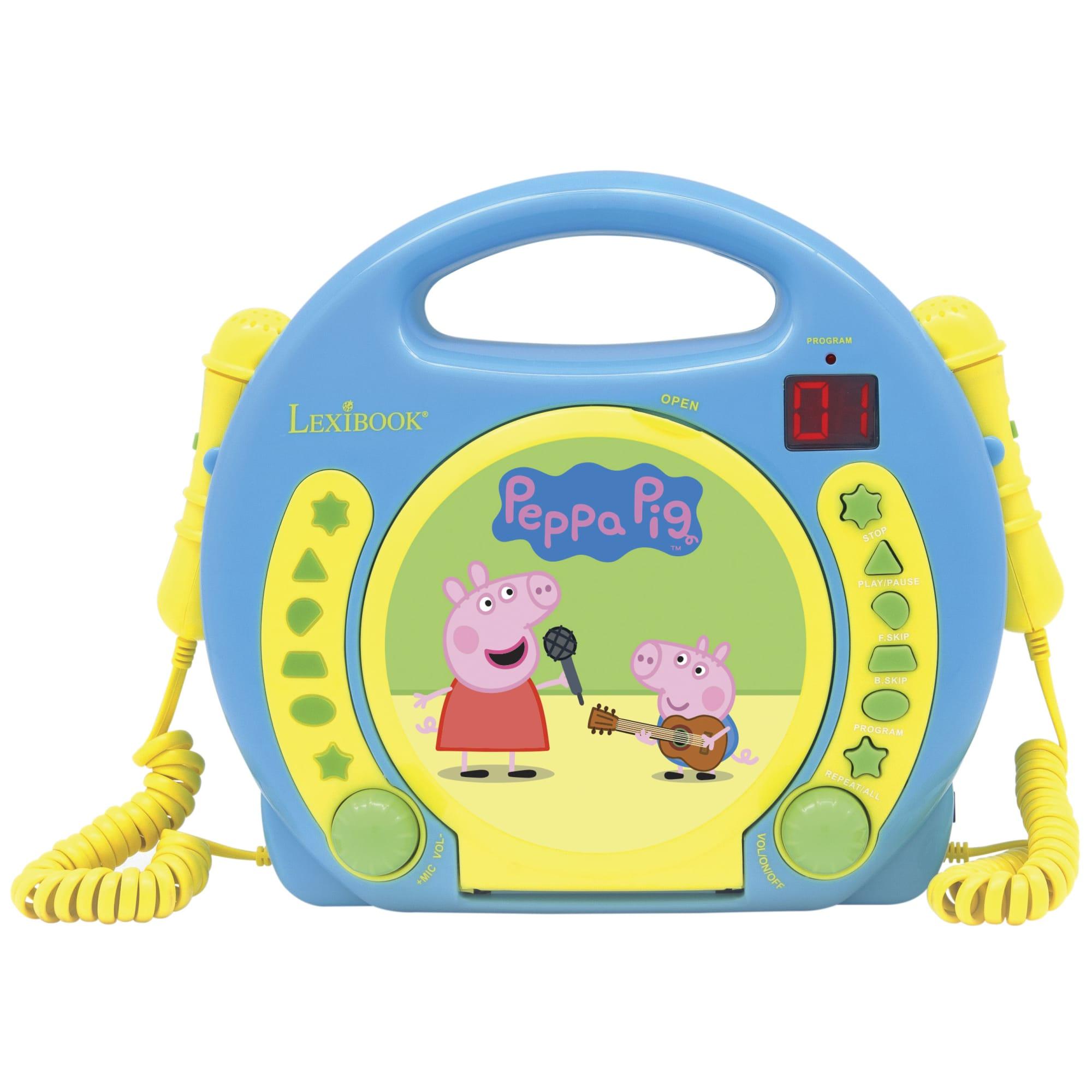 Gurli Gris - CD Afspiller med 2 Mikrofoner