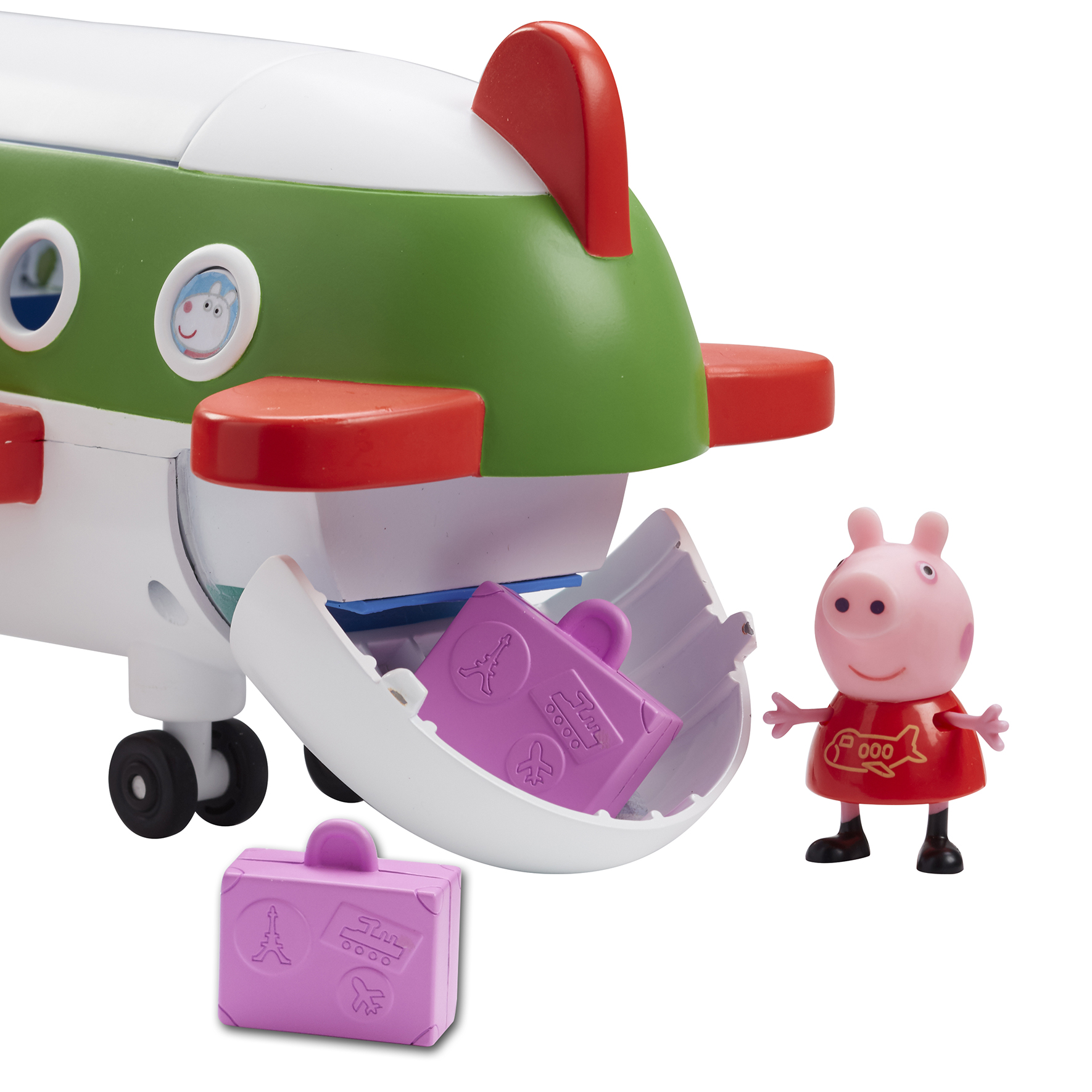 Gurli Gris - Jet Fly med Gurli Gris figur