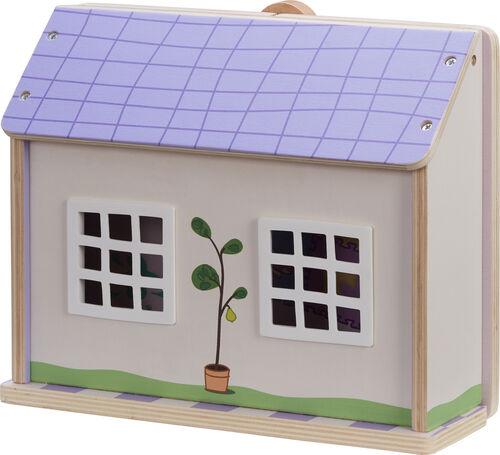 Gurli Gris - Skole i Træ med 3 Figure