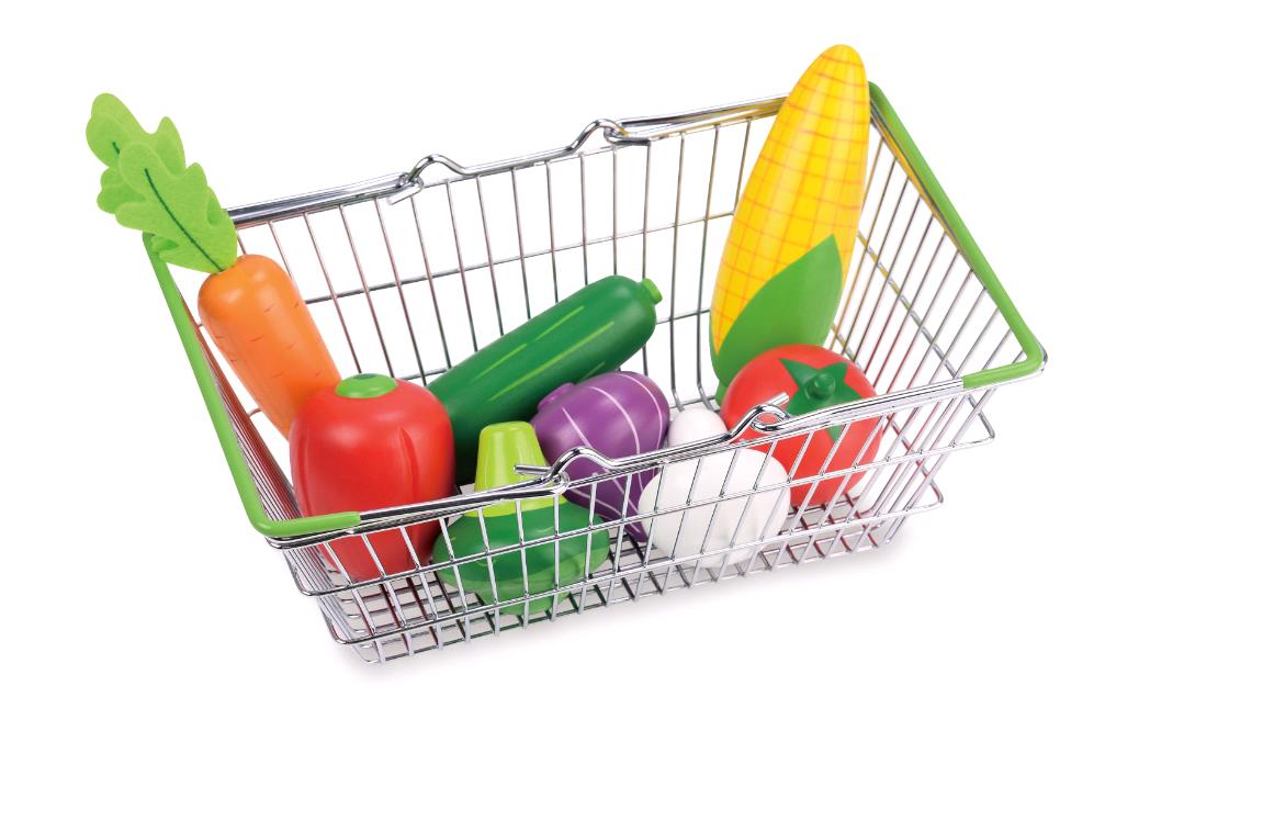 Indkøbskurv med Grøntsager