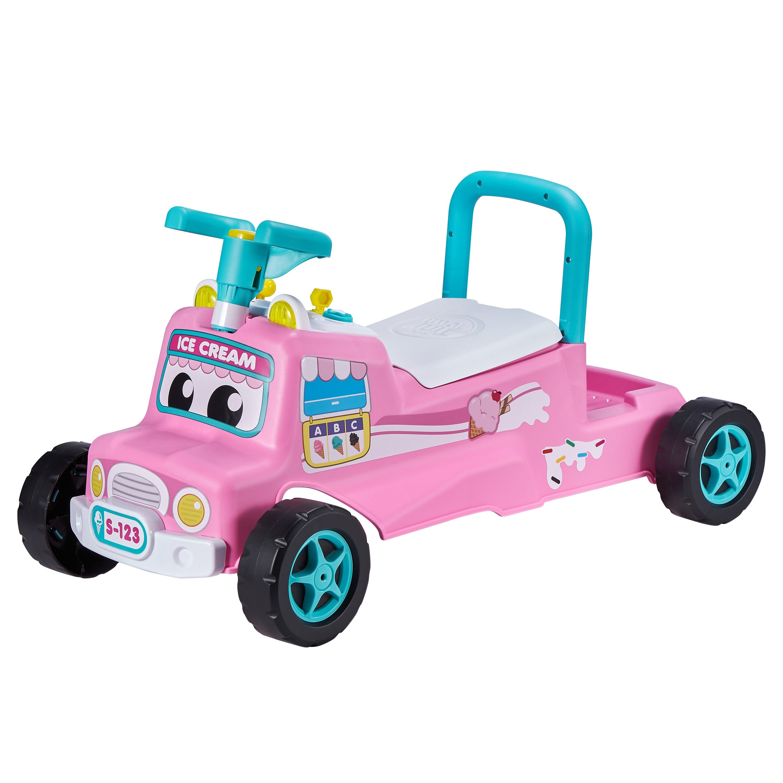Interaktiv Gåbil - Pink