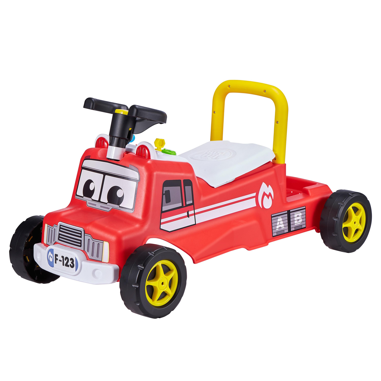 Interaktiv Gåbil - Rød