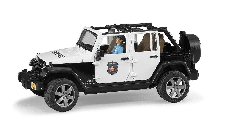 Jeep Wrangler Rubicon Politibil med politimand