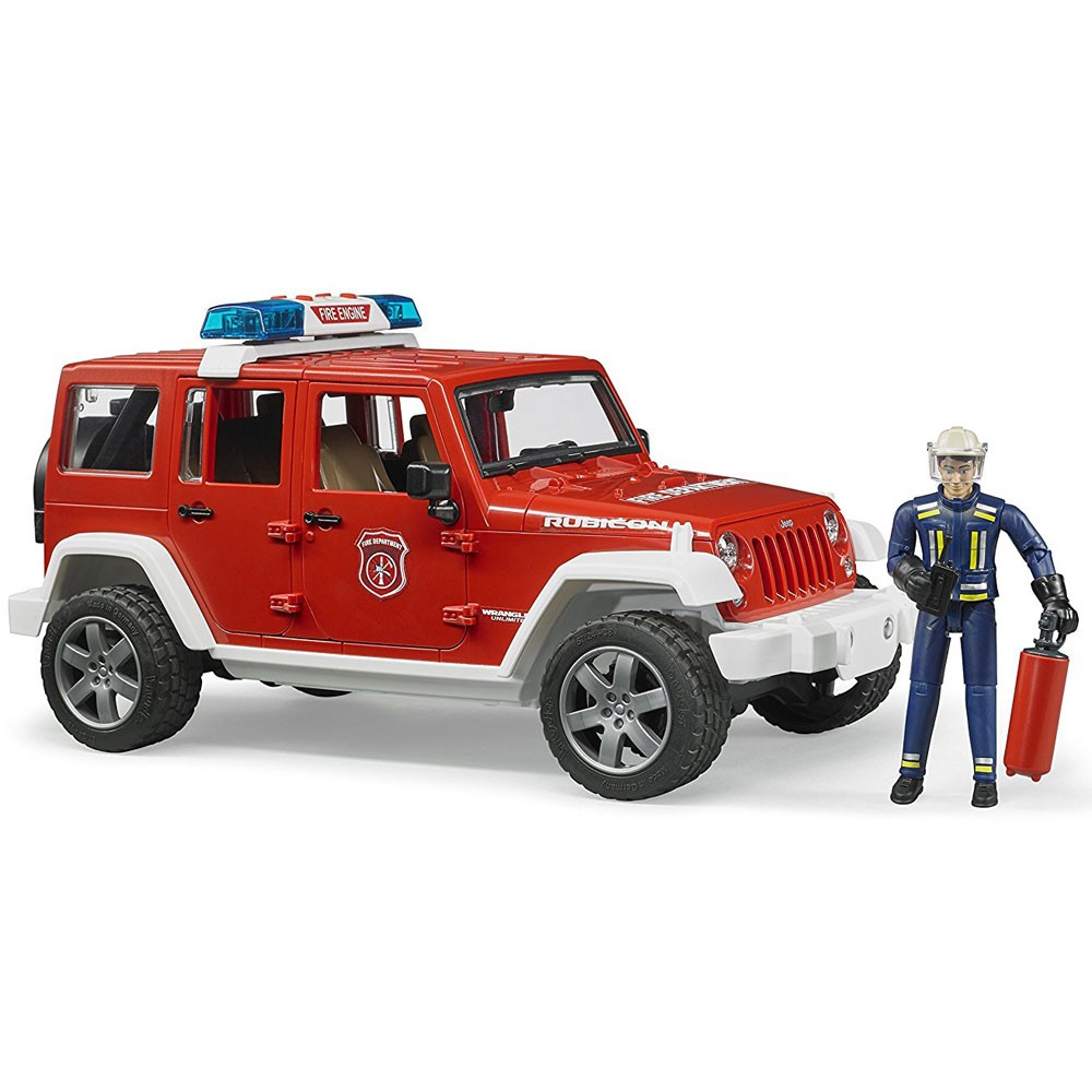 Jeep Wrangler Unlimited Rubicon Indsatslederbil