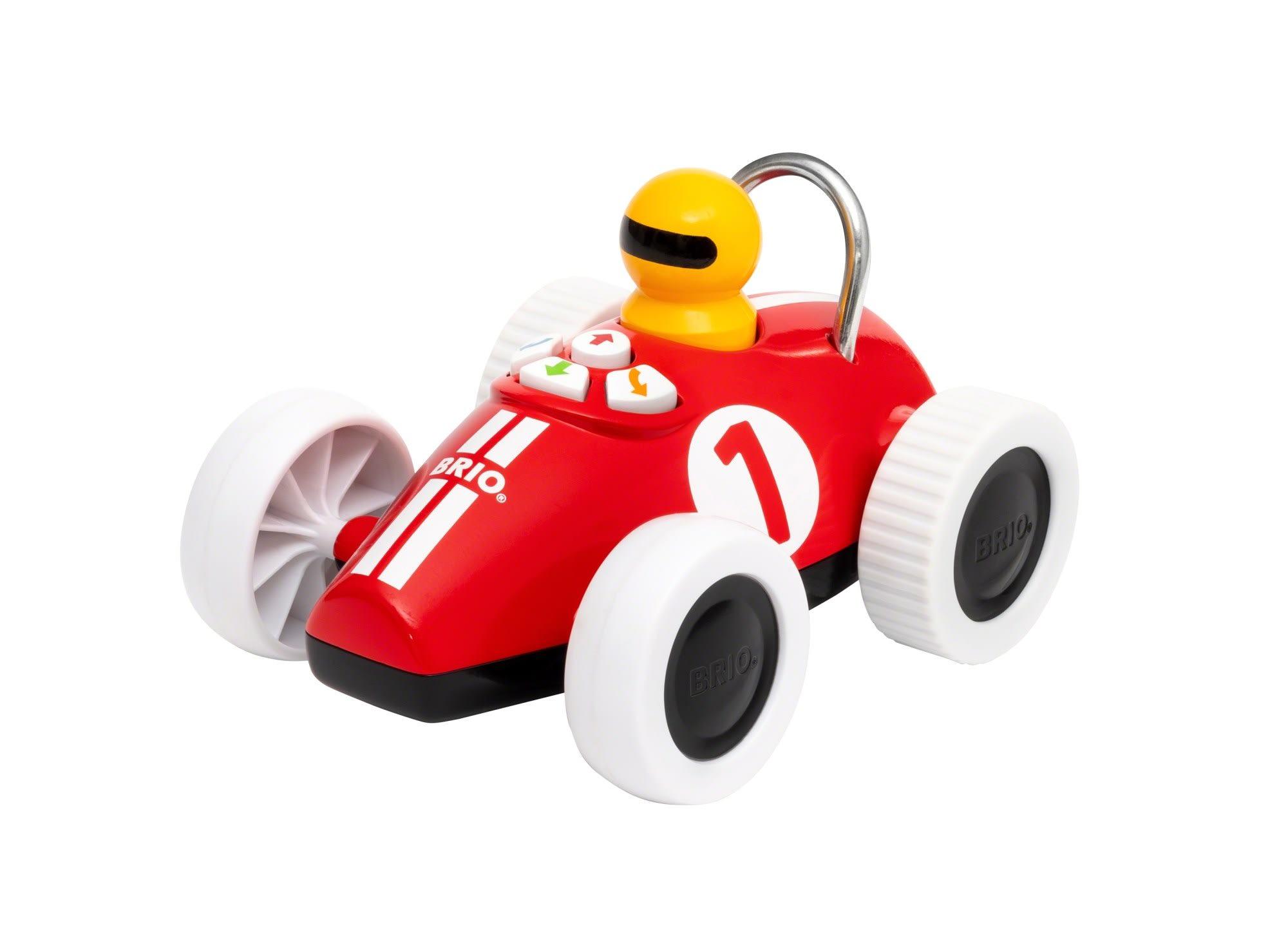 Leg og lær action racerbil