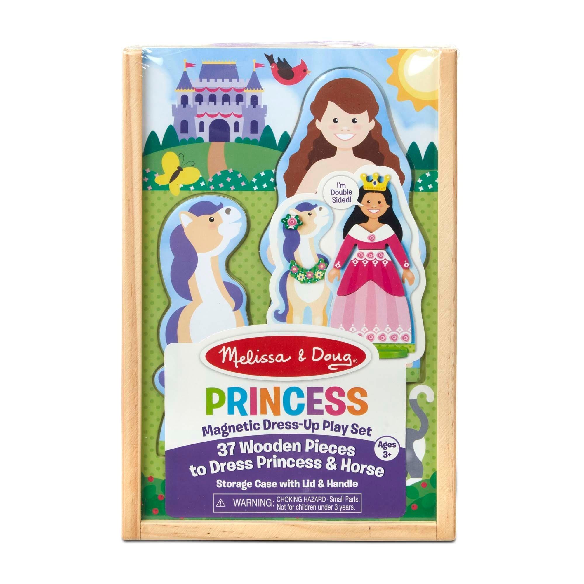 Magnetiske Påklædningsdukke - Prinsesse