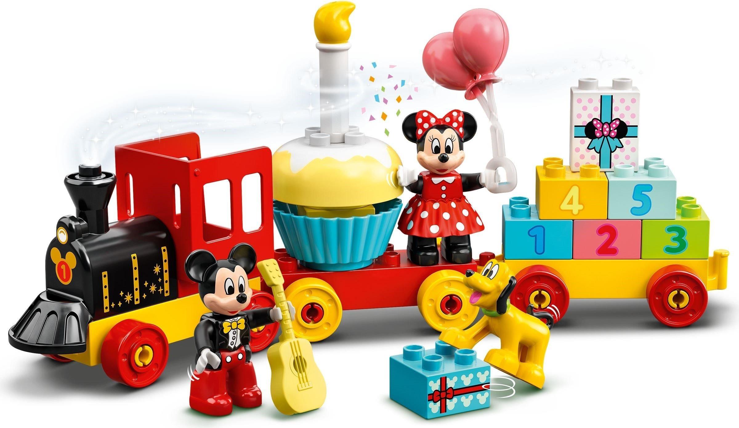 Mickey & Minnies fødselsdagstog
