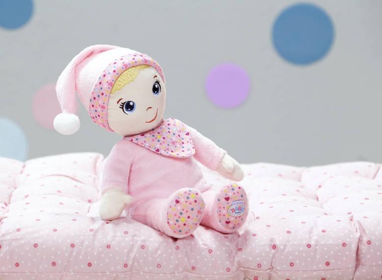 Min første bløde dukke