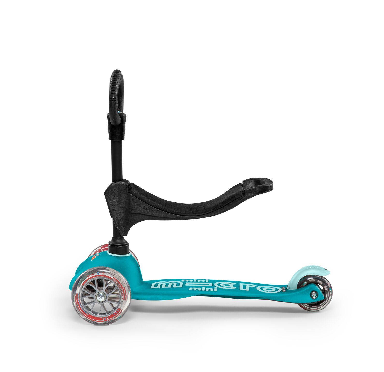 Mini 3-i-1 Deluxe Løbehjul - Aqua