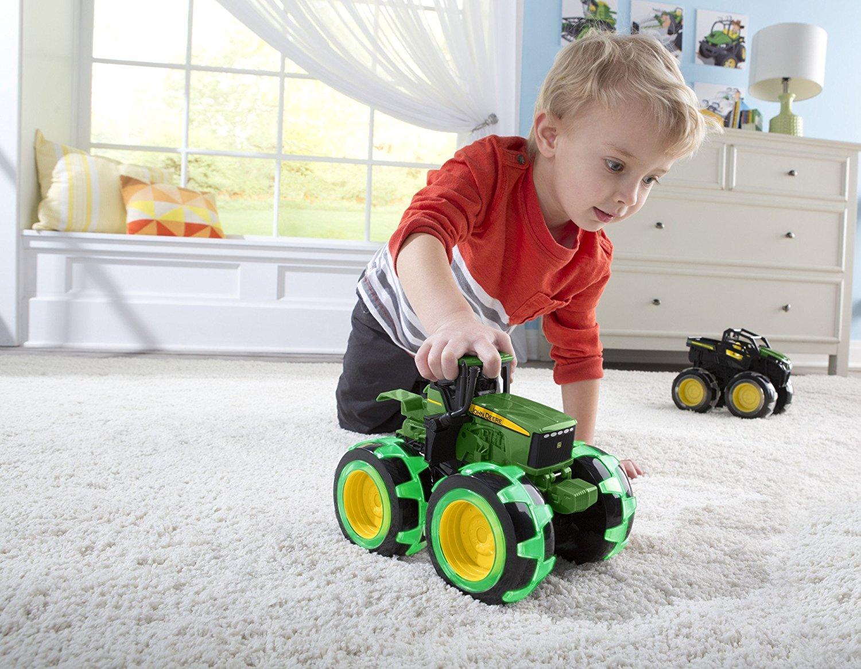Monster Traktor Med Lys