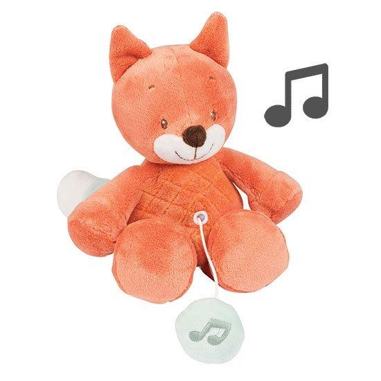 Musikspillende Dyr - Mini Oscar Ræv