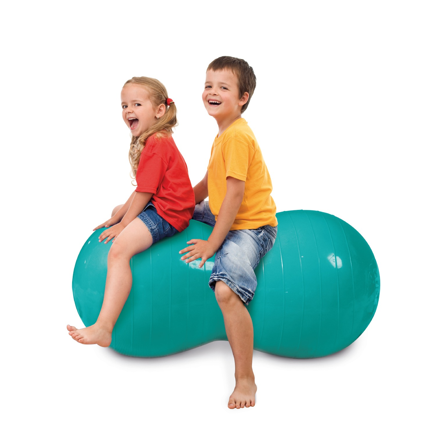 Oval exercise ball